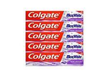 5x 100ml Colgate Max White Shine Crystals Toothpaste Zahnpasta mit Fluorid NEU