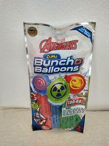 New 100 Bunch O Balloons SELF SEAL Marvel AVENGERS IRON MAN HULK Capt America 8D