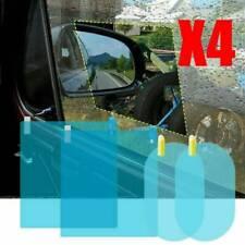 Car Rearview Mirror Film Window Rainproof Anti-Fog Protective Sticker Film 4Pcs