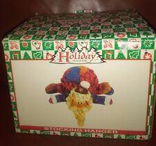 Holiday Collection Santa  Ceramic Stocking Hanger