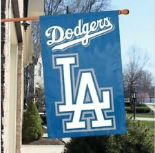 """Los Angeles Dodgers Flag House Banner 28"""" x 44"""" Party Animal MLB"""