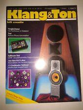 Audio Hi-Fi Lautsprecher Boxen KLANG UND TON Magazin Selbstbau Vintage 1992