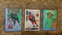 (3) 1991-92 Wayne Gretzky Upper Deck SP1 & Czech Hologram insert card lot Hull