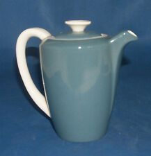 Poole Pottery Cameo Blue Moon Coffee Pot Water Jug Small