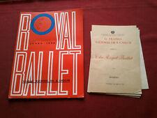 VINTAGE 1968 THE ROYAL BALLET OPERA THEATRE PORTUGAL SOUVENIR BROCHURE