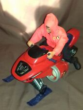 Action Man Snowmobile 2001 Arctic Polar Good Played With Condition