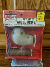 K Mart Two Speed Angle Drive Attachment For Any 14 Drill