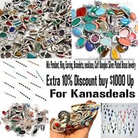 AAA Mix Pendant Ring Earring Bracelet Necklace Cuff Bangles Handmade Jewelry