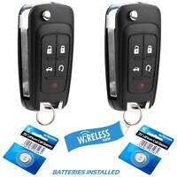 FikeyPro Keyless Entry Remote Fob Car Key fit Chevrolet Cruze Equinox Camaro Malibu 13500221 OHT01060512