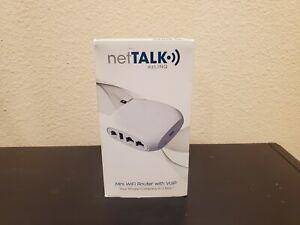 NetTalk Ezlinq Mini Wifi Router With VoIP