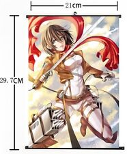 HOT Japan Anime Cosplay Attack on Titan Home Decor Poster Wall Scroll 8