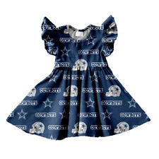 DALLAS COWBOYS ANGEL SLEEVES DRESS - NEW- SIZE 4T