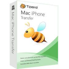 IPhone transfert Mac tipard dt. version complète-vie licence ESD téléchargement