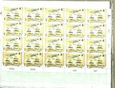 PITCAIRN ISLANDS 1773 MAP FINE ½-SHEET INTRO TO COLLECTION MNH