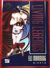 Eli Manning 2017 Panini Illusions <Living Legends> #3 ~~ Giants 🏈🏈