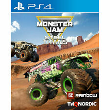 Monster Jam Steel Titans PS4 PLAYSTATION New and Sealed