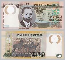 Mozambique/mocambique 50 de Metlcais 2011 polímero p150 UNC.