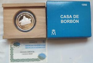 ESPAÑA 2000 Pesetas 1998 Carlos III - Real Casa de Aduana  - Borbones