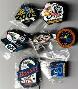8 eBay LIVE Pins 2003 Orlando 04 New Orleans 05 San Jose 06 Las Vegas 07 Chicago