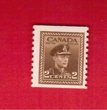 1948  #  279 ** FNH  TIMBRE  CANADA  STAMP KING GEORGE VI COIL