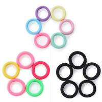 100pcs Child Kids Girl Hair Holders Rubber Hair Band Elastics Accessories #gib