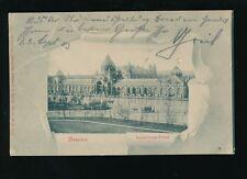 Germany DRESDEN Ausstellungs Palast u/b Used 1903