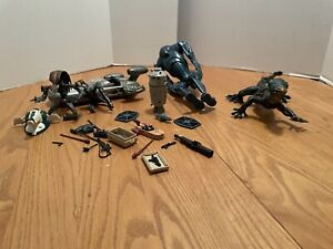 Star Wars Action Figure and Vehicle Lot Incomplete.