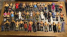 LOT OF 46 WWE WWF Mattel Elite Basic Jakks Roh Ufc Wrestling figures Legends