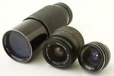lot of 3x dirty lenses - as found