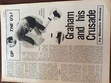 b1q ephemera football picture article 1969 dick graham colchester tony macedo
