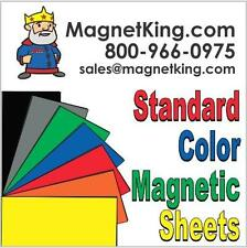 "Flexible Magnetic Sheets 7 Colors to choose from 12"" x 24"" Magnet Sheeting"