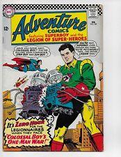 ADVENTURE COMICS 341 - VG/F 5.0 - SUPERBOY - JOKER CAMEO - BATMAN CAMEO (1966)