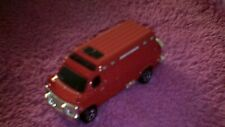 Matchbox - 1-125 - Unboxed - #87 '95 Custom Chevy Van - Red - Tyre on Rear