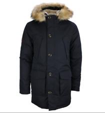 Superdry Men's Everest Parka Short Fur Collar Winter Jacket Navy M5010204A/98T