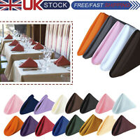 """20"""" x 20"""" Polyester Napkins Wedding Table Cloth Decor Linen Dinner Party Events"""