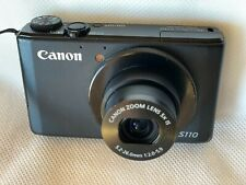 Canon PowerShot S110 digital camera 12.1 MP, Black not working