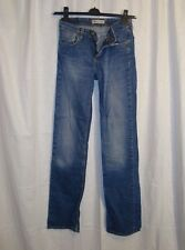 Levi's 627 coupe droite femme STRETCH BLUE JEANS W28 L34 excellent conditions