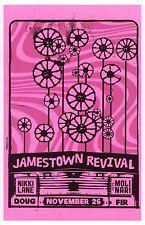 JAMESTOWN REVIVAL 2014 Gig POSTER Portland Oregon Concert