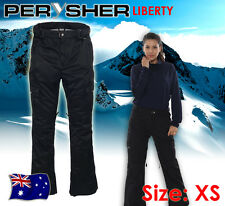 Womens Ski / Snowboard Pants PERYSHER LIBERTY *Ladies Stylish Black* Size XS