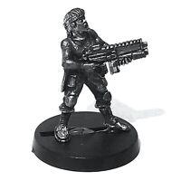 Trooper - Female, MAR / Singlet / Headband 28mm Unpainted Metal Wargames