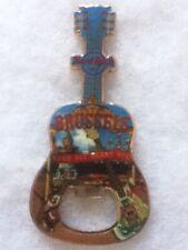 Hard Rock Cafe Brussels City Tee Bottle Opener Guitar Magnet