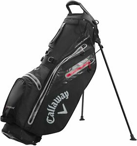New Callaway Golf 2021 Hyper Dry C Waterproof Stand Bag COLOR: Black/Charcoal