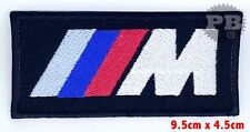 BMW M3 Series Car Racing Iron on Sew on Embroidered Patch