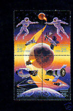 RUSSIA - 1992 - SPACE - JOINT ISSUE  USA / USSR - MINT - MNH BLOCK/SET!