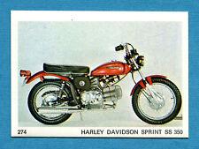 AUTO E MOTO - Figurina-Sticker n. 274 - HARLEY DAVIDSON SPRINT SS 350 -New