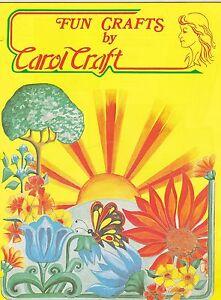 1976 VINTAGE CATALOG #1016 - CAROL CRAFT - QUILT - CRAFTING etc