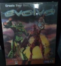 """Evolva  """"B""""   WIN 95/98  NIB  Big Box  Genetic Warriors  3-D Package"""