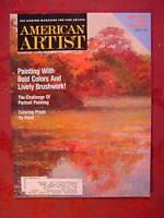 AMERICAN ARTIST October 1991 Lois Griffel Marshall Bouldin Gerard Tempest