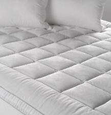 Queen Mattress Topper Pillowtop Protector Ultra Plush Reversible 850GSM Odyssey
