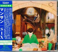 Mansun ‎Six JAPAN CD with OBI 1 Bonus Track TOCP50666